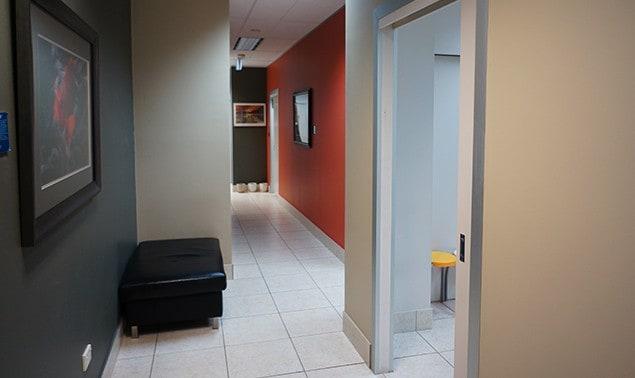 Dental Clinic Entrance Area
